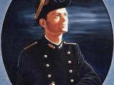 peinture portrait huile sur toile 15f