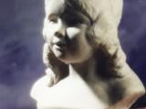 sculpture portrait en pierre de banon de provence